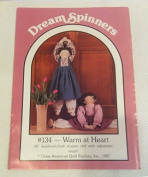 Dream Spinners Pattern No. 134 Warm at Heart Draught Stopper Doll .supply.from:vitahalls4