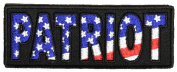 PATRIOT WITH STARS AND STRIPES PATCH - Colour - Veteran Owned Business.
