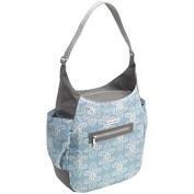 Nappy Bag Purse Style - Blue & Grey