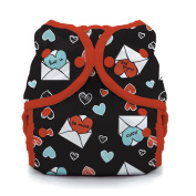 Thirsties Snap Duo Wrap, Love Notes, Size One