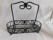 Longaberger Wrought Iron Caddy Condiment Holder