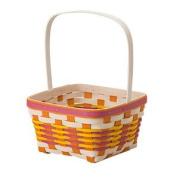 Longaberger 2017 Large Easter Basket Pink and White