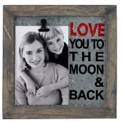10cm x 15cm , Avidar to The Moon Metal Picture Frame