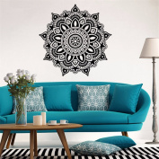 HN Mandala Flower Indian Bedroom Wall Decal Art Stickers Mural Home Vinyl Family
