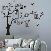 HN Frame Tree Wall Stickers Muslim Vinyl Home Stickers Wall Decor Decals