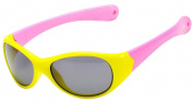 Coolsome Kids Rubber Flexible Aviator Polarised Sunglasses Fit for Age 3 -10 Years