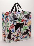 Blue Q Shopper Bag Here Kitty