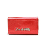 Lux de Ville Miss Lux Wallet in Venom Red Sparkle New Colour!