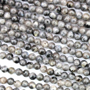 fashiontrenda Natural Black Labradorite Round 4mm Gemstone Jewellery Making Beads Findinds Supplies