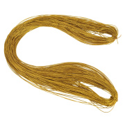 Shappy Metallic Cord Jewellery Thread Craft String Lift Cord for Jewellery and Craft Making, Gold, 100 Metres/ 109 Yards