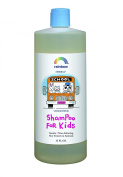 Rainbow Research Kids Shampoo - Unscented - 950ml - Great for a sensitive or dry scalp - Made with biotin