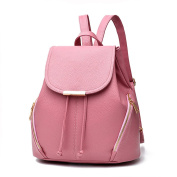Z-joyee Casual Purse Fashion School Leather Backpack Shoulder Bag Mini Backpack for Women & Girls