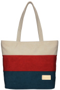 ArcEnCiel Women's Canvas Shoulder Hand Bag Tote Bag