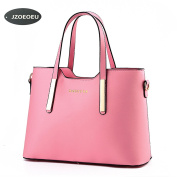 Women's PU Leather Shoulder Bags Top-Handle Handbag Tote Bag Simple Purse Fashion Cross Body Bag SILI