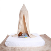 Children Bed Canopy Round Dome Mosquito Net Hanging Curtain Baby Kids Bedroom Accessories