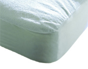White Terry Towel Water Resistant Mattress Protector Single