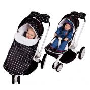 Sevira Kids Multi-Purpose Universal Footmuff For Pram or Car Seat 0-18 Months - Waterproof - Urban Collection - 2.0