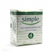 Simple Pure soap for Sensative Skin 4x125g