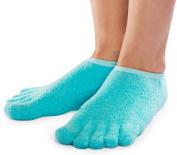 NatraCure 5-Toe Moisturising Gel Socks