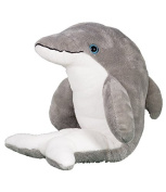 """""""Bubbles"""" the Dolphin, Make Stuff Build your own 20cm (8"""") Plush Teddy Kit - no sewing"""
