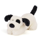 Jellycat Pipsqueak Black & Cream Puppy 15cm