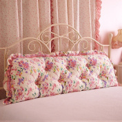 Personality Cotton Bed Sofa Large Cushions Cotton Double Long By Pillow Pillow Bedside Large Backrest 1 Pillow cushions