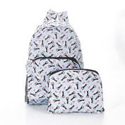 Puffin print Expandable Backpack/Rucksack holds 20kg max 6mth guarantee