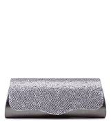 WOMENS NEW EVENING SHIMMER CLUTCH BAG SMALL PURSE OCCASION PROM SHOULDER