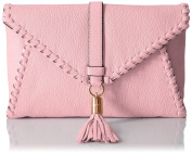 MILLY Astor Whipstitch Foldover Clutch