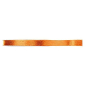 DOUBLE-SIDED SATIN RIBBON 6 MM ORANGE