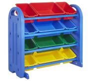 4-Tier Plastic Storage Organiser