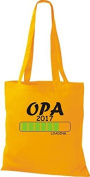 ShirtInStyle Tote bag Cotton bag Loading OPA 2017 - Golden Yellow, 38 cm x 42 cm
