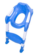 DoubleBlack Potty Training Seat for Toilet Blue