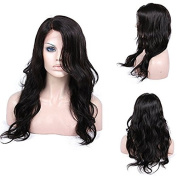 Life Diaries Body Wave New Style 180% Density Glueless Silk Top Lace Front Wigs 8A Unprocessed Brazilian Virgin Human Hair Natural Hairline Bleached Knot Free Part