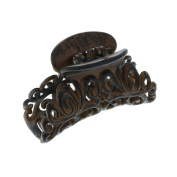 Claire's Girls and Womens Wood Effect Decorative Hair Claw