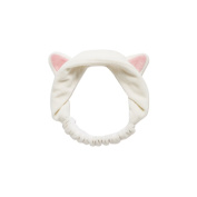 GEOOT Makeup Cat's Ear Hair Band (Beige) by Geoot