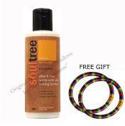 Soultree Aloe and Rose Water Cleansing Milk with Skin Toning Licorice 200ml - With FREE GIFT (Pair of Multicolor Bangles) and  .