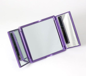 FMG Purple Two Door Travelling Mirror