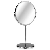 Giratorio Shaving Mirror Chrome Magnifying Option Contemporary Design Attractive Look. by choicefullshop