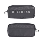 Fulltime(TM) Mesh Breathable Admission Package Wash Cosmetic Pouch Storage
