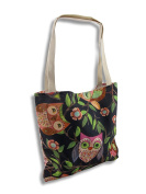Wendy Bentley `Give a Hoot` Owl Tote Bag