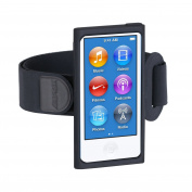 AGPTEK Armband for iPod Nano 7th Generation / 8th Generation, Black