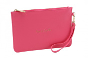 Willow & Rose Keep It Together Fuchsia Pink Beauty Bag