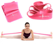 RubyStretch – Ballet Stretch Band – Ballet and Resistance Band Set for Exercise, Stretching, Dance and Gymnastics Training – Gift Box + Starting Guide + Carrying Bag