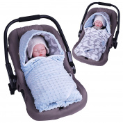 Sevira Kids Cosy Minky Reversible Envelope Cover Multi-Purpose Universal for Car Seat