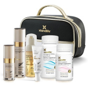 Xtendlife Eternal Beauty Collection Skin Nutrition Supplements + Anti-Ageing Skincare