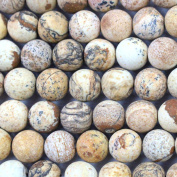 Fashiontrenda Natural Colour Unpolished Round 10mm Picture Jasper Gemstones Loose Beads Findings DIY Jewerlry Making