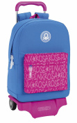 Safta School Backpack, Blue / Pink (blue) - 077541