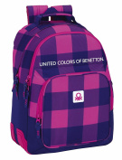 Safta School Backpack, Pink / Blue (multicolour) - 077527