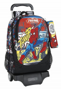 Safta School Backpack, Black (black) - 077670